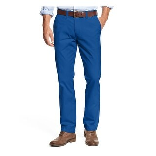 Tommy Hilfiger Mens Chino Pants Custom Fit Casual