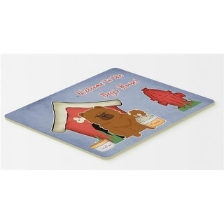 Carolines Treasures BB2896CMT Dog House Collection Chow Chow Red Kitchen or Bath Mat 20 x 30