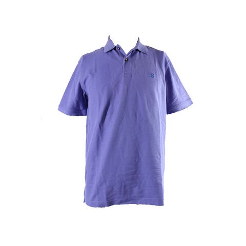 Izod Violet Short-Sleeve Pique Polo Shirt 18 36-37 S