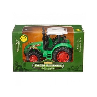 Gift Corral Western Accessories Farm Runner Tractor Green 87-39420