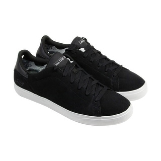 Skechers On-The-Go Mens Black Suede Lace Up Lace Up Sneakers Shoes