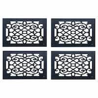 4 Heat Register Floor Vent Grate Cast Aluminum  9.5 x 11 3/8   Renovator's Supply