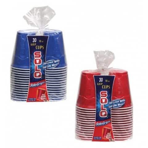 Solo SQ1830 Grips Plastic Cup, Plastic, 18 Oz