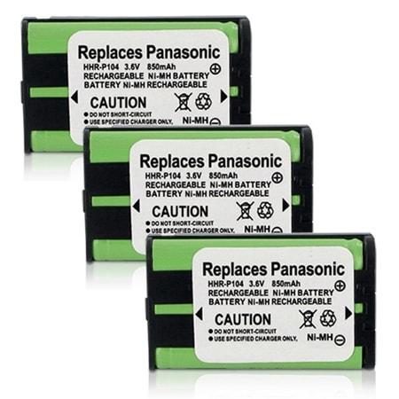 Panasonic P104 / TYPE 29 NiMH Generic Replacement Battery - 3 Pack