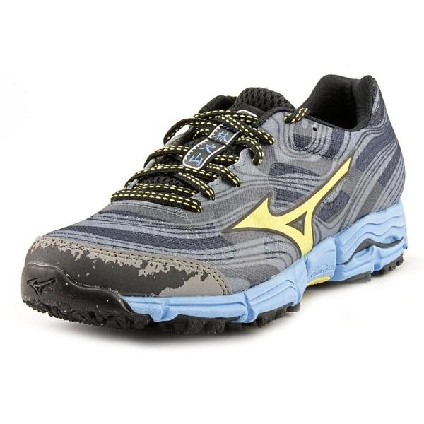 Mizuno Wave Kazan Women  Round Toe Synthetic Blue Running Shoe
