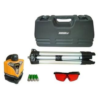 Johnson Level 40-0918 Manual Rotary Laser Level Kit