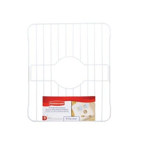 Rubbermaid 6103-AR WHT Basic Sink Rack, White,