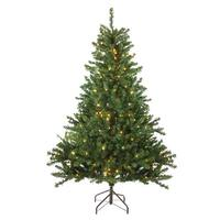 5' Pre-Lit Canadian Pine Artificial Christmas Tree - Candlelight LED Lights - green