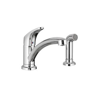 American Standard 7074.020  Colony Pro Single Handle Kitchen Faucet - Polished Chrome