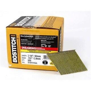 "Bostitch S12DR131GAL-FH Stick Framing Nail, 3-1/4""x.131"""
