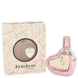 Eau De Parfum Spray 1.7 oz Bebe Sheer by Bebe - Women