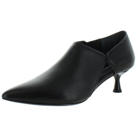 Donald J. Pliner Womens Balou Booties Leather Cut-Out