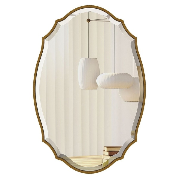 Mirror Trend Irregular Framed Handmade Wall Mirror. Opens flyout.
