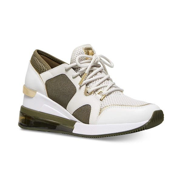 Easy to understand disconnected system  Shop Michael Kors MK Women's Liv Trainer Extreme Mesh Sneakers ...