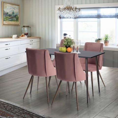 Carson Carrington Salberget Mid-century Modern 5-Piece Dining Set