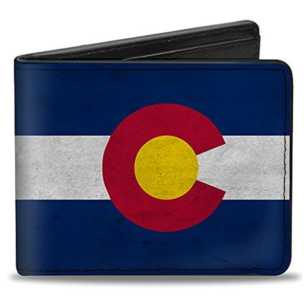 Buckle-Down Bifold Wallet Colorado