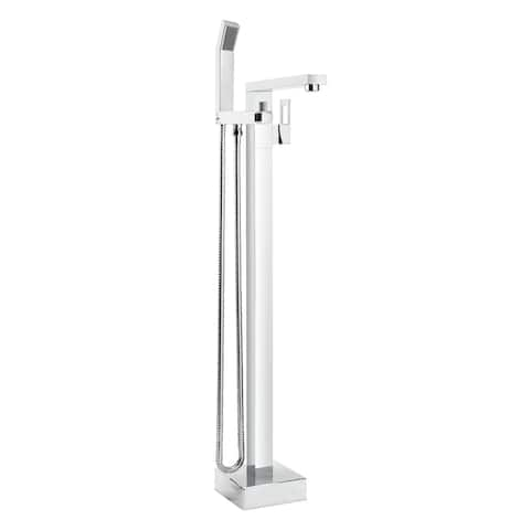 Belanger QUA45CCP Single Handle Floor Mounted Freestanding Tub Filler