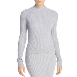 MICHAEL Michael Kors Womens Pullover Sweater Mock Turtleneck Ribbed - xL