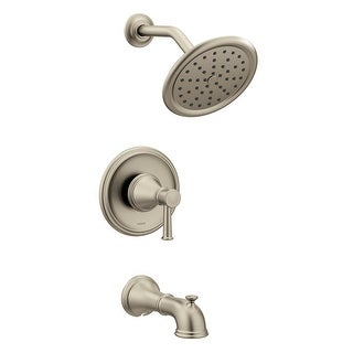 Moen T2313  Belfield Tub and Shower Trim Package with Single Function2.5 GPM Shower Head and Posi-Temp Pressure-Balancing Valve