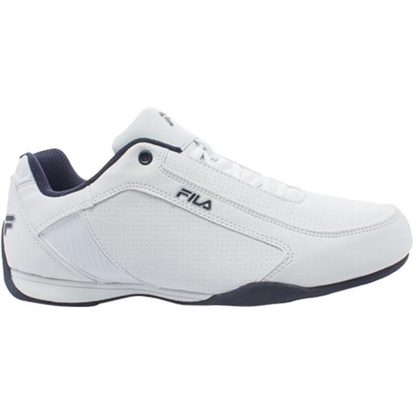 Shop Fila Men's Tiltshift Lace Up Shoe WhiteFila Navy
