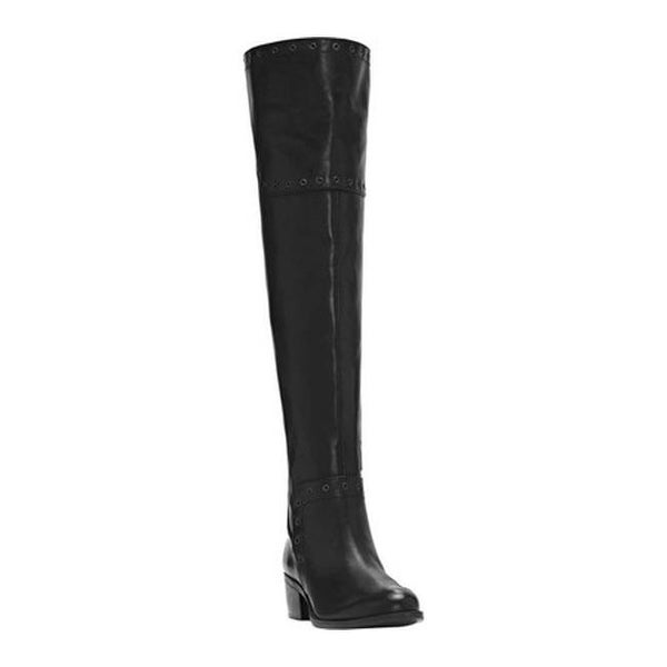 75c0e5bb81b Shop Vince Camuto Women's Bestan Over the Knee Riding Boot Black ...