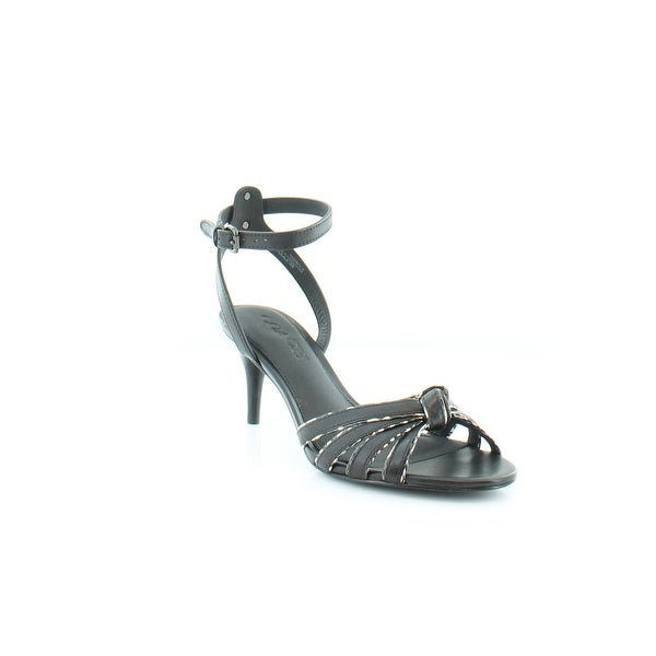 Coach Meg Women's Heels Black