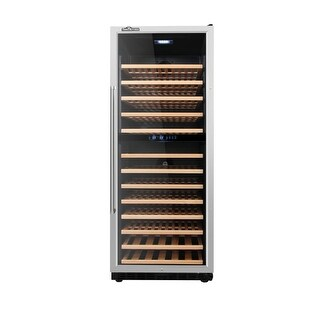 Thor Kitchen HWC2408U 24 Inch Wide 133 Bottle Capacity Built-In Wine Cooler with
