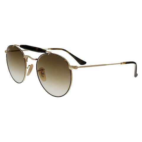 Ray Ban RB3747 900851 Gold Havana Aviator Sunglasses - 50-21-145