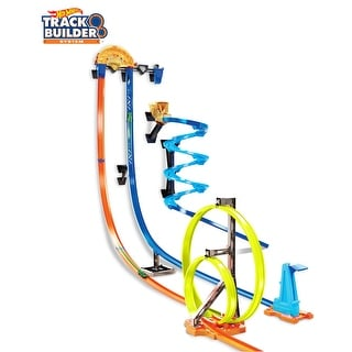 Link to Hot Wheels Track Builder Vertical Launch Kit Similar Items in Toy Vehicles