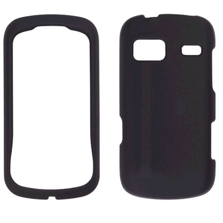 Sprint Soft Touch Snap-On Case for LG Rumor Reflex LN272 - Black