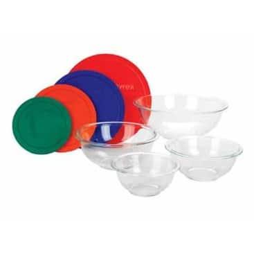 Pyrex 1086053 Smart Essentials Bowl Set 8 Piece