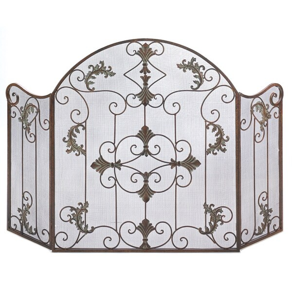 Florentine Fireplace Screen - N/A