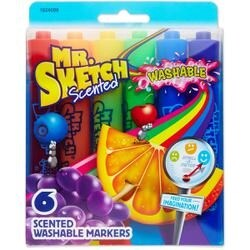 Chisel - Mr.Sketch Scented Washable Marker Set 6/Pkg