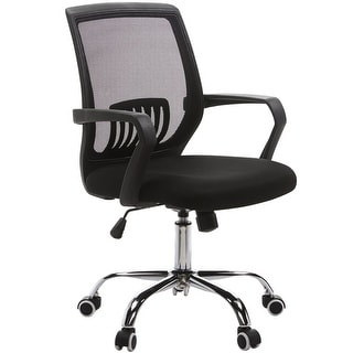 Adjustable Office Chair/ Mesh Chair/ Task Chair/ with Mid Lumbar Support, 360 swivel