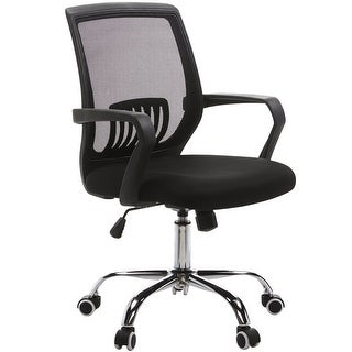 Modern Adjustable Computer Chair/ Mesh/ Office Chair/Task Chair Mid Lumbar Support,360 Swivel