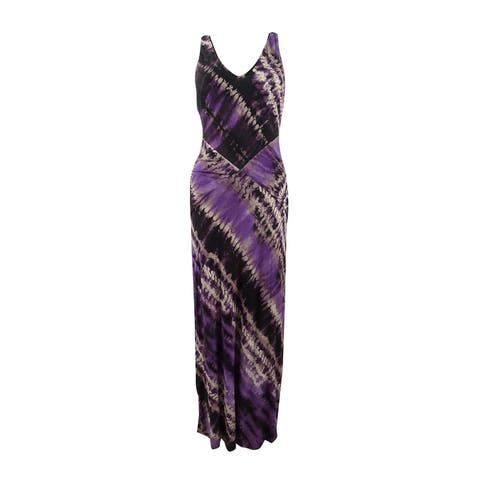 INC International Concepts Women's Printed Maxi Dress