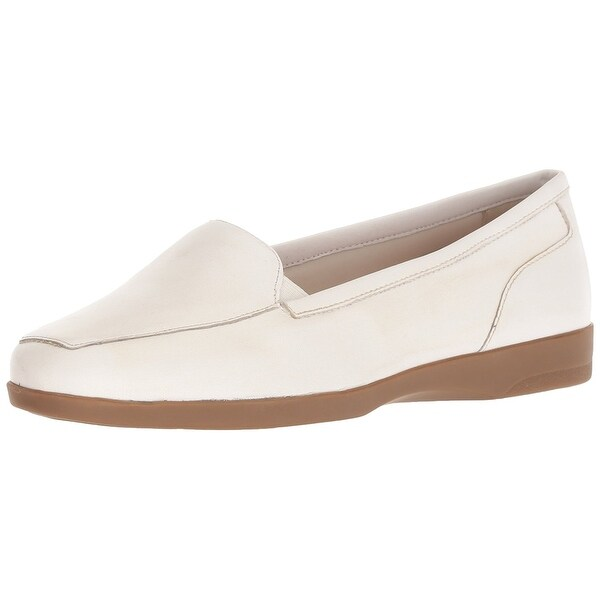 Easy Spirit Womens Devitt Leather Closed Toe Oxfords