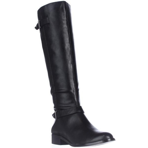 A35 Mable Knee-High Boots, Black