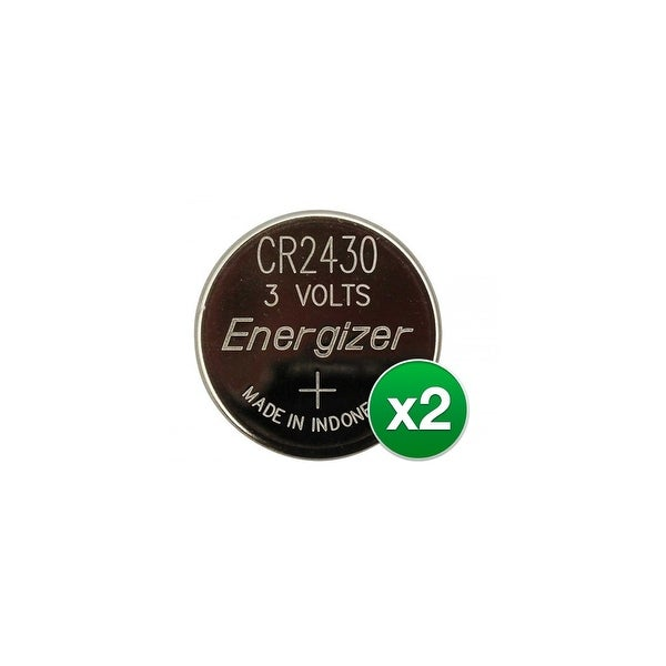 Replacement Battery for Energizer CR2430 (2-Pack) Replacement Battery