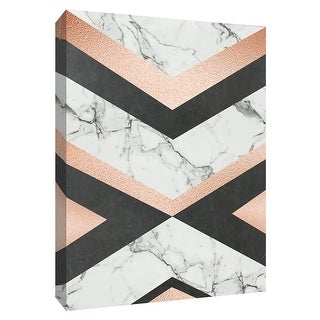 """PTM Images 9-148707  PTM Canvas Collection 10"""" x 8"""" - """"Geo Glam"""" Giclee Patterns and Designs Art Print on Canvas"""