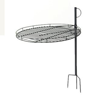 Sunnydaze Height Adjustable Fire Pit Cooking Grate 24 Inch Diameter