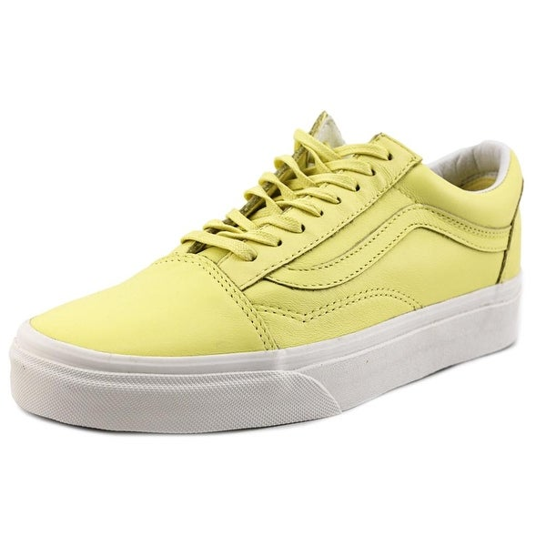 Vans Old Skool Round Toe Leather Sneakers
