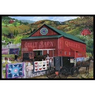 Carolines Treasures PTW2018JMAT The Quilt Barn Indoor & Outdoor Mat 24 x 36 in.