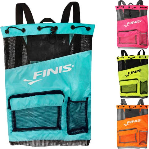 FINIS Durable Fast Drying Breathable Ultra Mesh Backpack