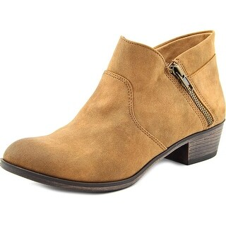 American Rag Abby Women Round Toe Canvas Ankle Boot