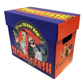 5 Pack of JAY AND SILENT BOB Secret Stash Licensed Short Comic Book Boxes