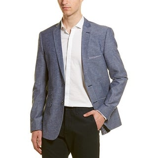 Link to Paisley & Gray Linen-Blend Slim Fit Blazer Similar Items in Sportcoats & Blazers