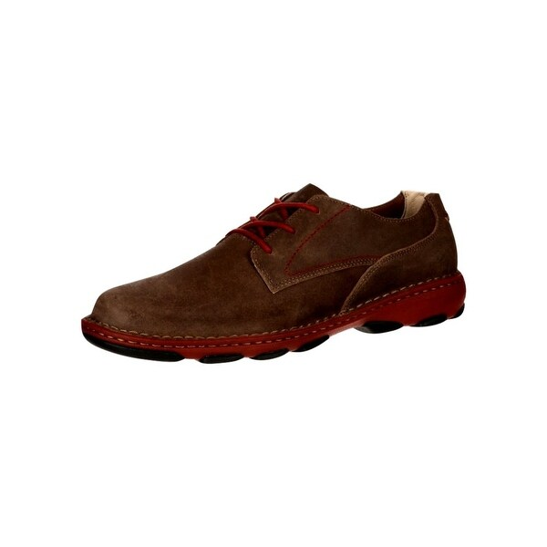 Rocky Work Shoes Mens Cruiser Casual Oxford Memory Brown