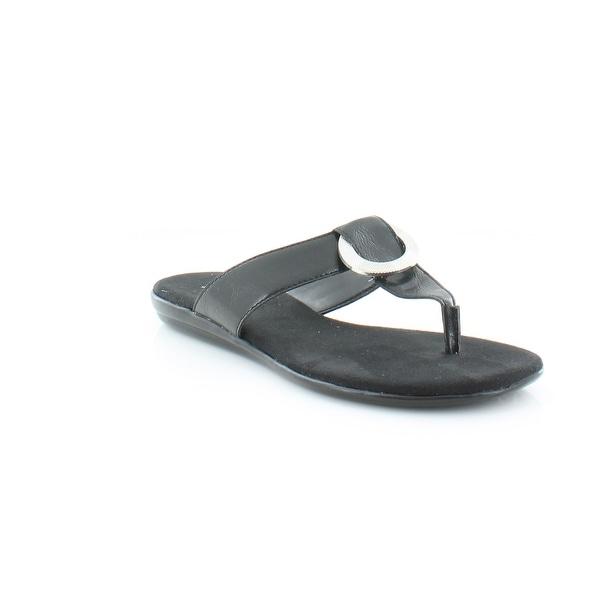 da940c0900f4 Shop Aerosoles Supper Chlub Women s Sandals   Flip Flops Black ...