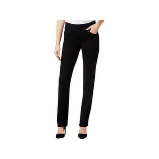 Jag Jeans Womens Straight Leg Jeans High Rise Five-Pocket